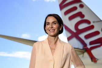 Virgin Australia chief executive Jayne Hrdlicka.