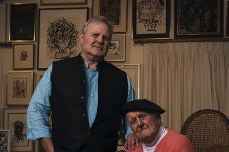 Tim and John Olsen in late 2020.