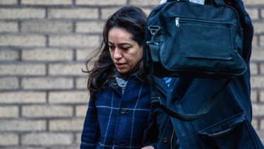 Fabiana Abdel-Malek was sentenced to three years for insider trading.