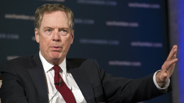 US Trade Representative Robert Lighthizer leads the ''hawks'' that want to demolish China's centrally-planned economic model.
