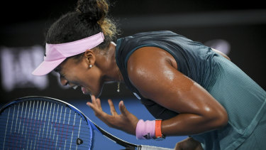 Naomi Osaka is through to the Australian Open final.