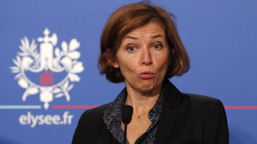 French Defence Minister Florence Parly.