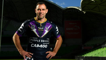 Milestone man: Cameron Smith ahead of his 400th game.