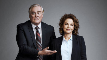 John Howard and Sigrid Thornton in Seachange.