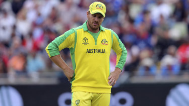 Australia's captain Aaron Finch failed to deliver.