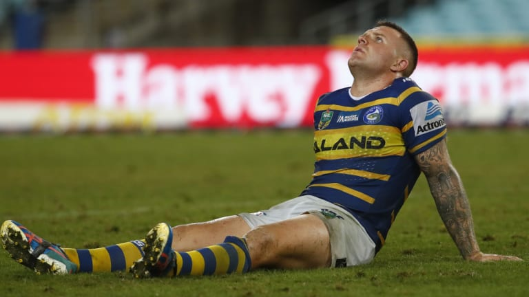 Sitting out pre-season: Nathan Brown went under the knife last week.