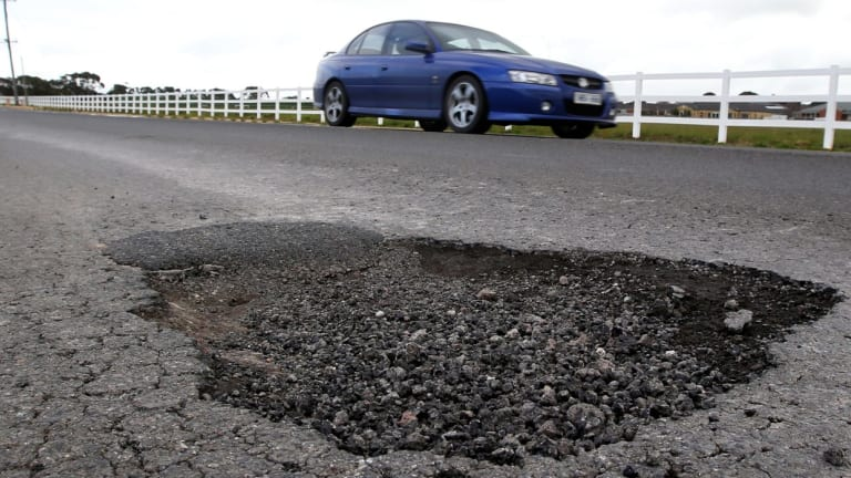 Brisbane City Council repaired 73,000 potholes in the 2016-17 financial year.