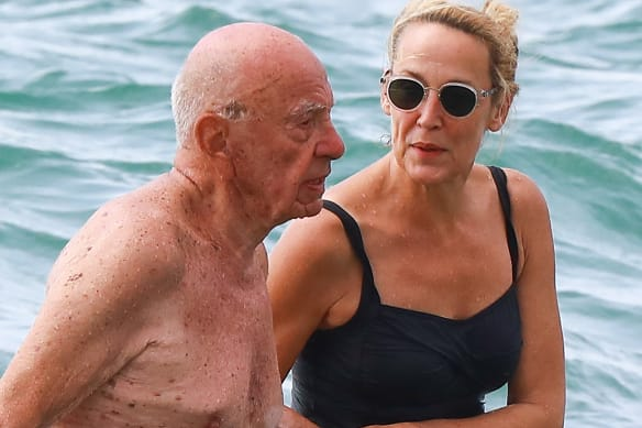 Private Sydney: Wet look will do for international tycoon's vacation