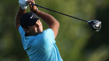 US Open leader Patrick Reed.