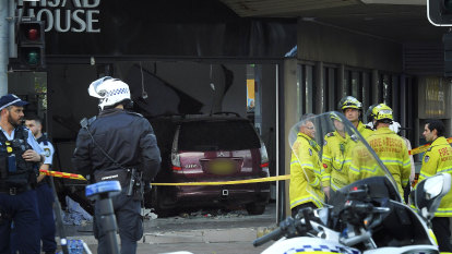 Driver who crashed into Greenacre shop hit with multiple charges