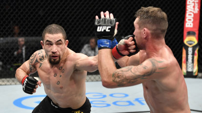 Relaxed Whittaker says he's falling in love with UFC all over again