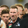 'Not shying away': Buckley aware Pies must get moving