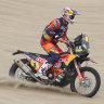 Australian and former champ Toby Price improves to fifth in Dakar Rally