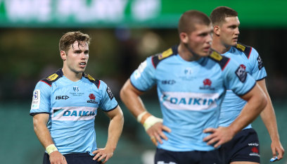 Harrison, Tizzano left out of starting side for Waratahs' clash with Hurricanes