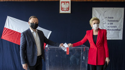 Polish election results on knife edge as opposition slams mail-in ballot 'scandal'