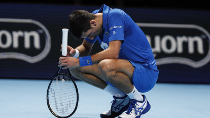 Politics at play for Djokovic after thumping by mighty Medvedev