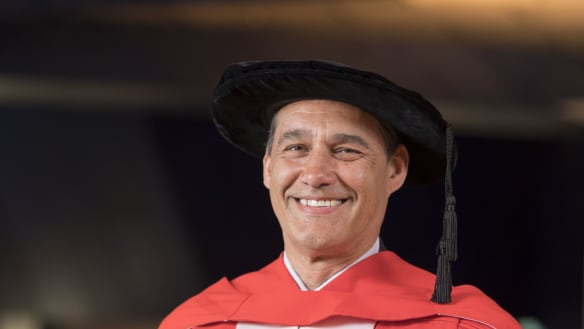 Honorary degree for WA man who played major role in Thailand cave rescue