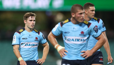 Will Harrison and Carlo Tizzano will not start for the Waratahs on Friday night.