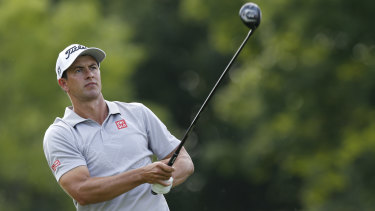 Opportunity: Adam Scott will play in the final group for the fourth round of the Memorial.