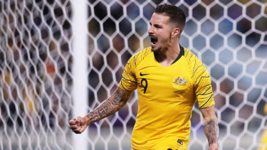 Jamie Maclaren, the A-League's top scorer, could miss the finals series if he is selected for the Socceroos in June.