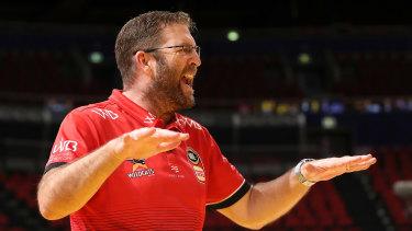 Perth coach Trevor Gleeson.