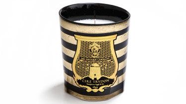 Balmain x Trudon candle.