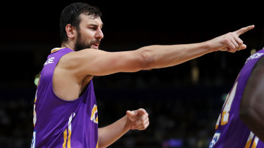 Andrew Bogut is back to lead the Sydney Kings in the NBL play-offs.