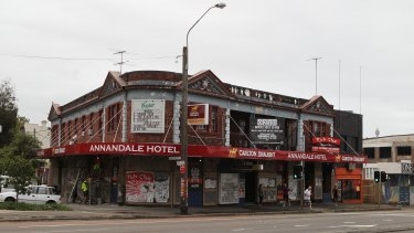 The Annandale Hotel has operate as a live music venue on Parramatta Road for decades.