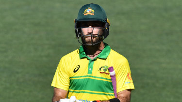 Glenn Maxwell says he didn't bed down a role towards the top of the Australian order when he had the chance.