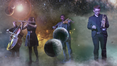 Ephemera Quartet somehow escapes the laws of gravity, while taking inspiration from the night sky.