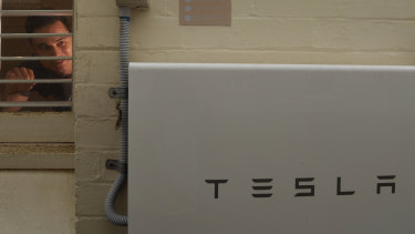 Carl Prins' Telsa battery helped him keep the lights on during the eastern suburbs blackout.