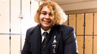 When Izak Rigney-Sebastian, 17, finishes the HSC at St Andrew's Cathedral School, he plans to become a cardiologist.
