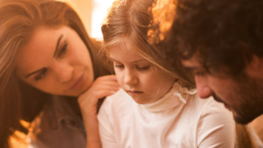 """""""One of the mistakes we can make as parents is, 'Cheer up, cheer up, it's fine, you'll be OK',"""" says clinical child psychologist Kirrilie Smout."""