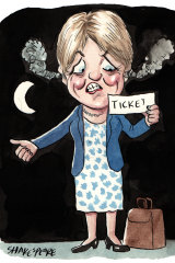 Catherine Cusack. Illustration: John Shakespeare