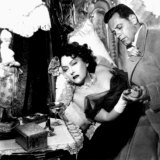 Gloria Swanson and William Holden in Sunset Boulevard.