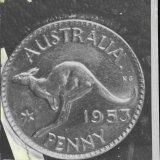 An Australian penny.