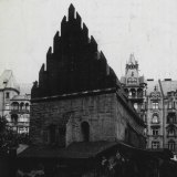 The Altneuschul in Prague in 1934.