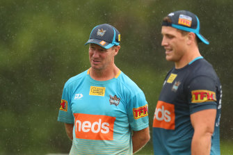 Gold Coast coach Justin Holbrook has already made a big impression at the club.
