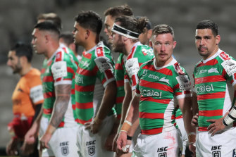 The Rabbitohs will probably make the eight but that's as good as it will get for the cardinal and myrtle.