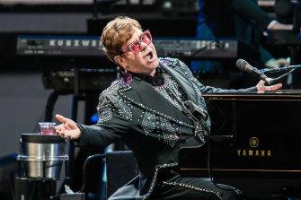 Elton John's address was among those accidentally published.