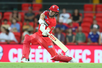 Shaun Marsh in action for the Renegades.