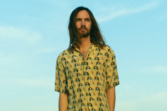 Fremantle Dockers No.1 ticketholder Kevin Parker. Also the face of a relatively successful band called Tame Impala.