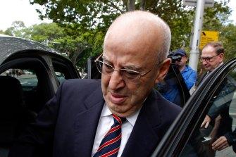 Corrupt: Former Labor MP Eddie Obeid.