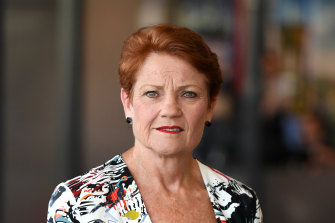 Pauline Hanson has spearheaded a legal challenge to the Queensland border restrictions.