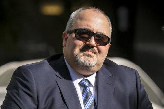 Bail justice Christos Pantelios.