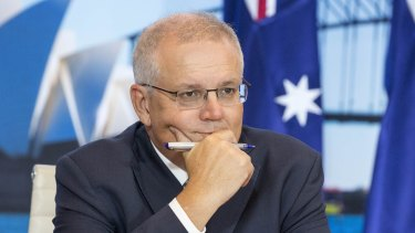 Morrison resists pressure to make emissions cut pledge at summit