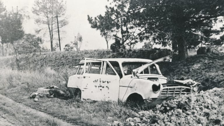John Desmond Gordon, Lilydale, August 1980. He was shot dead to stop him giving testimony.