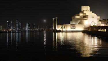 The Museum of Islamic Art in Doha, Qatar, was designed by I M Pei.