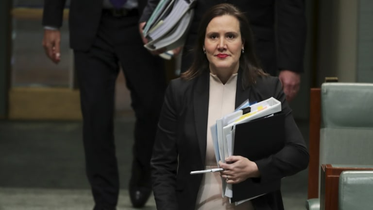 Minister for Revenue and Financial Services, Kelly O'Dwyer.