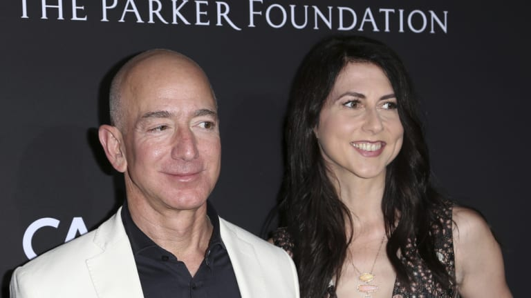 Jeff and MacKenzie Bezos were married one year before the launch of Amazon.